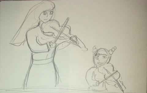 バイオリン1枚目
