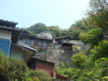 長江の2つの空き家、内部見学。