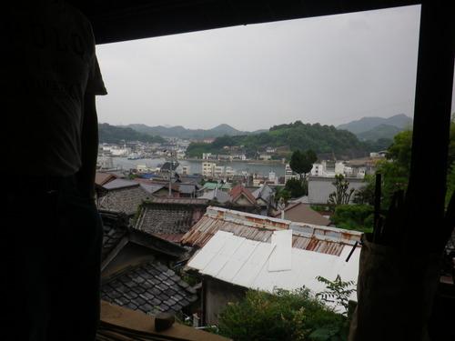 「ツタの家」からの眺め。