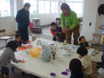 子どもと親のアートプログラム、参加しました!