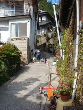 愛すべき坂の町・尾道の日常の風景。