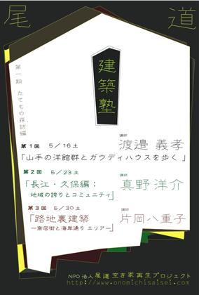 尾道建築塾2009 始まります~