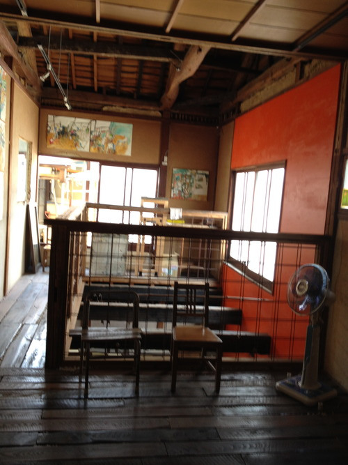 椙山奈津子さんの「かいまみま」展。