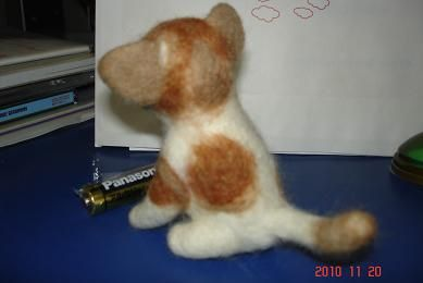 フェルト猫1