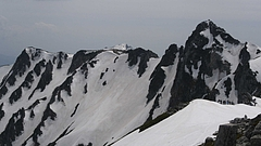 伊那前岳付近から宝剣岳