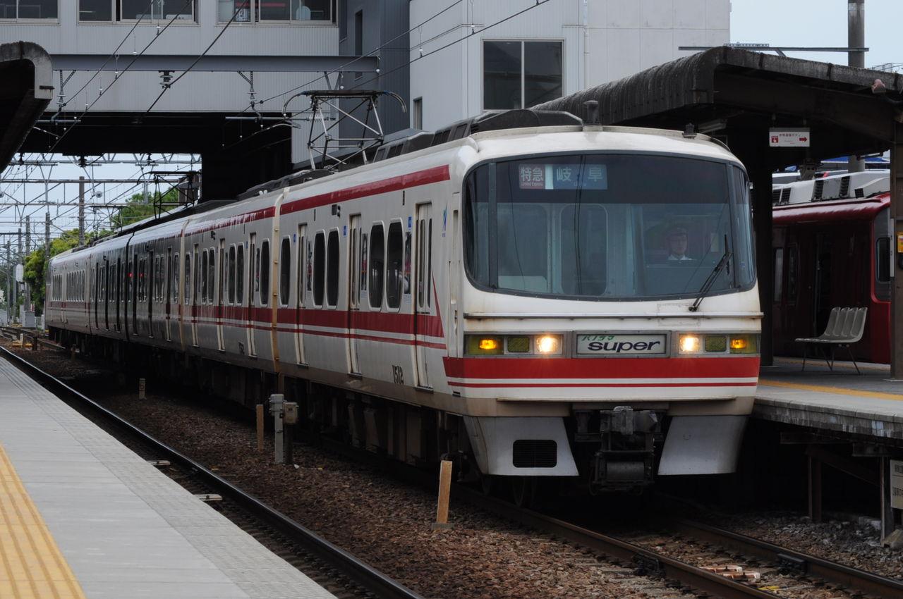 ハム師匠 名鉄1200系電車 1512F drecom_suitability   名古屋鉄道