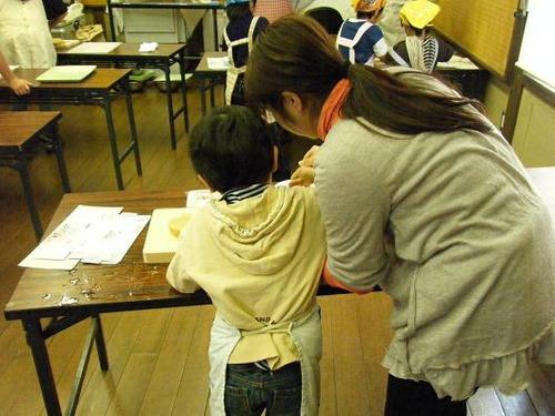 親子お菓子教室 069