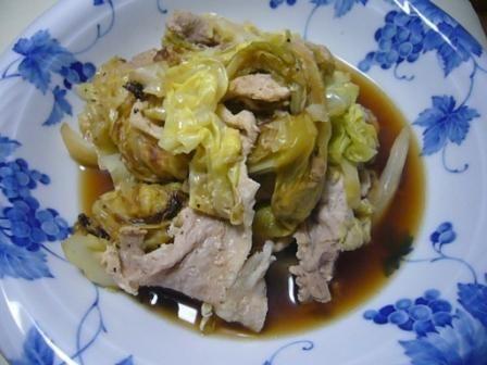 春キャベツと豚肉の重ね煮