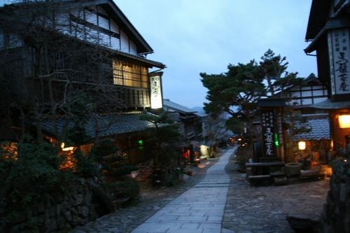IMG_6616 馬籠茶屋辺りの夜景