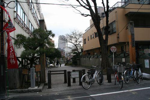 IMG_7374  品川宿本陣跡