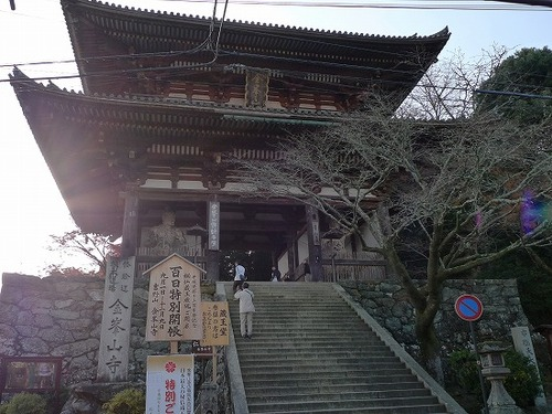 s-1128003 金峯山寺仁王門