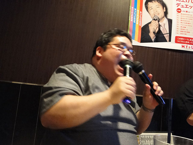 Singing Mr. Tokumori