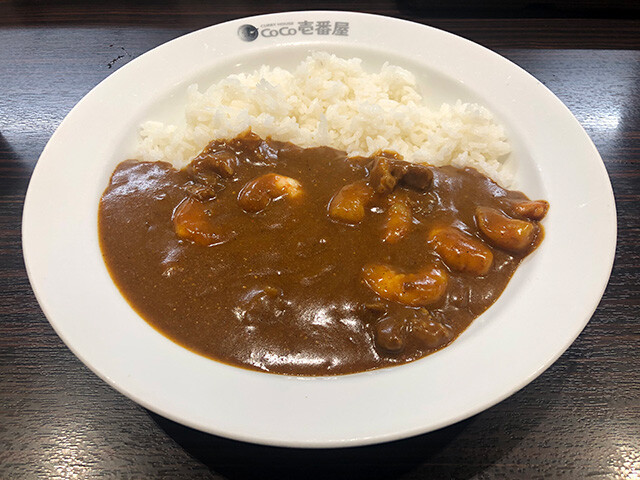 Beef Curry with Stewed Shrimps