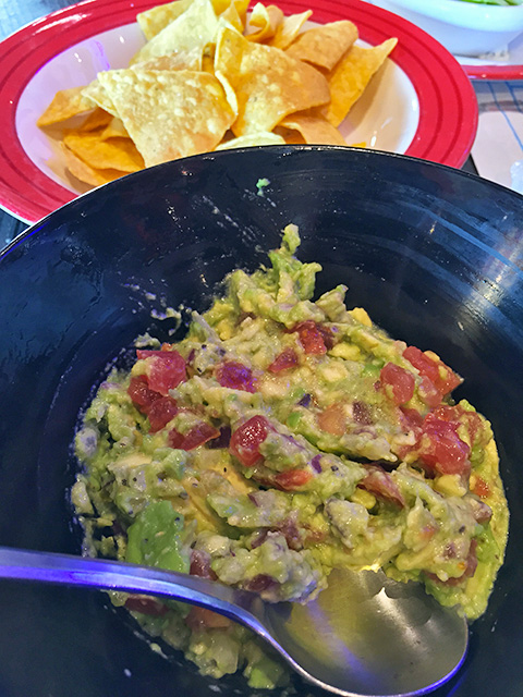 TABLESIDE GUACAMOLE