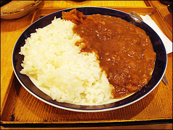 Fibrous Meat Curry