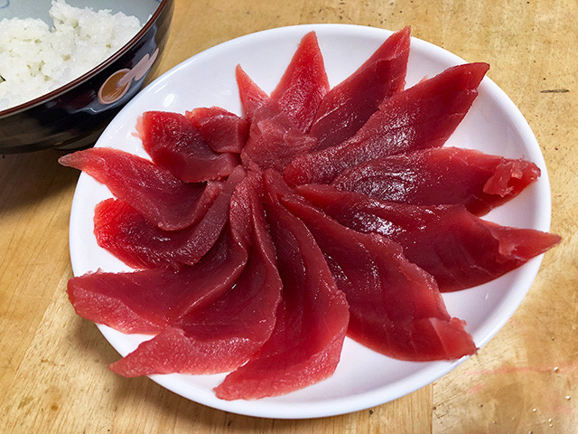 Raw Red Tuna with Rice