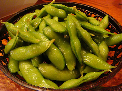 Boiled Soybeans