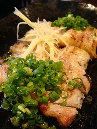 Lightly-Roasted Eel