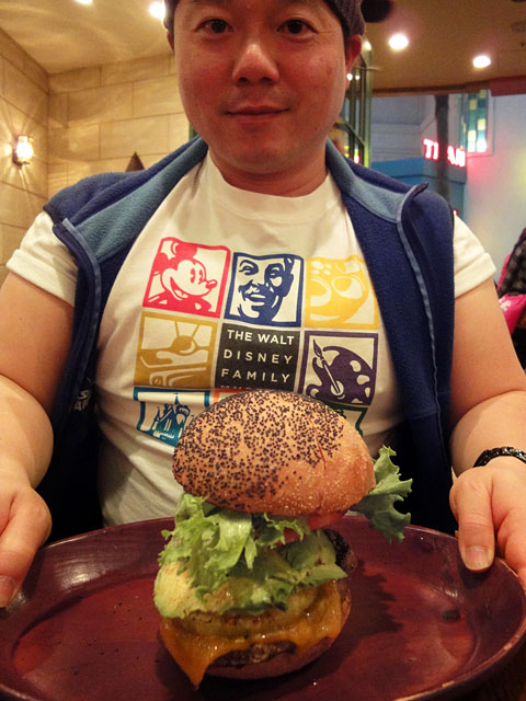 Avocado Burger and Dr. MaCHO