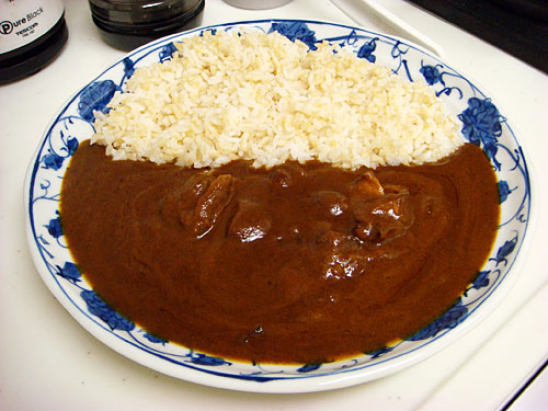 Chicken Curry with Sprouted Brown Rice