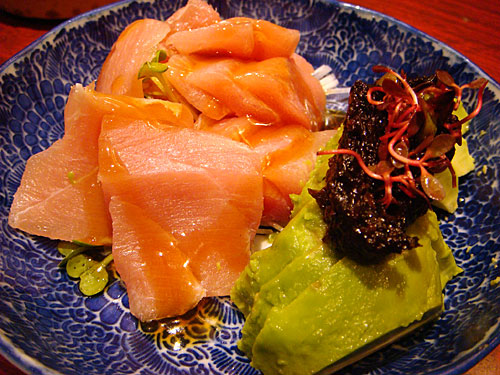 Medium Fatty Tuna and Avocado