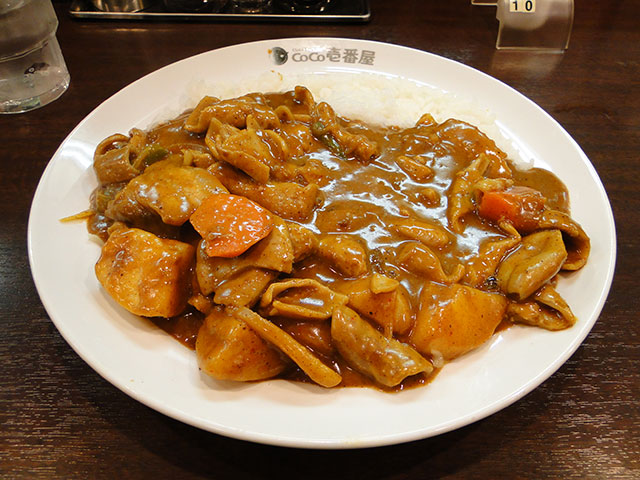 Grandmother Curry with Beef Giblets