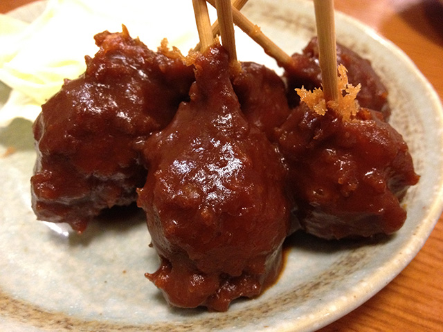 Deep-Fried Quail Eggs with Miso Sauce