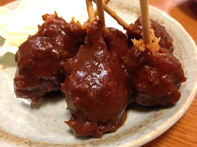 Deep-Fried Quail Eggs with Miso Sauce