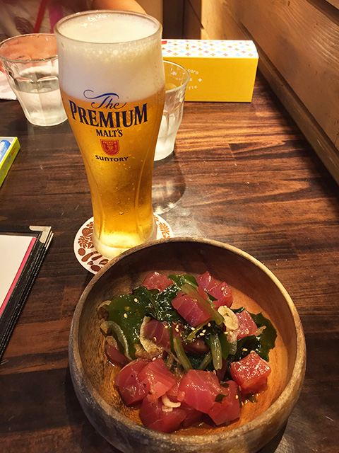 Tuna and Beer