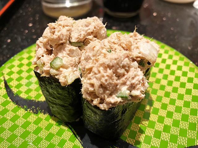 Tuna Salad Battle Ship Roll