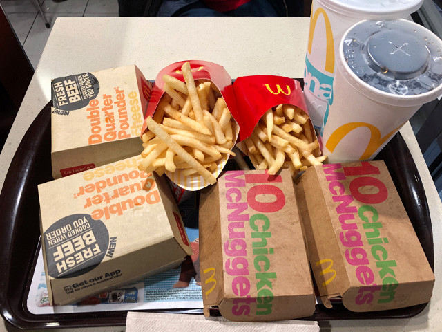 Double Quarter Pounder with Cheese Set Meals