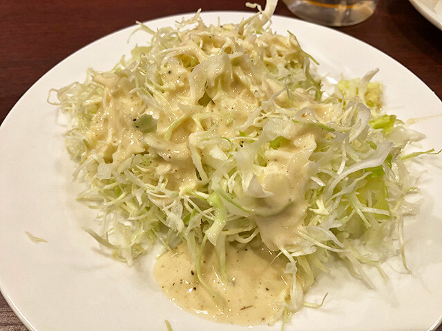Julienned Cabbage