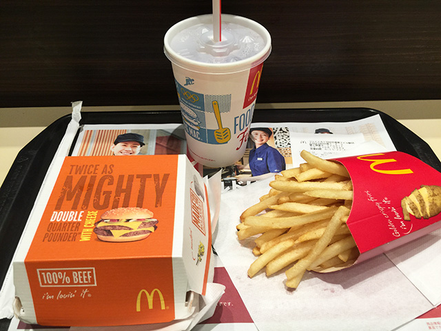 Double Quarter Pounder with Cheese Set