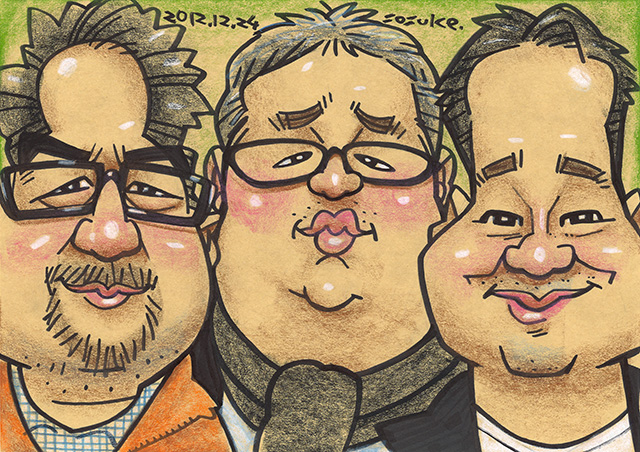 Caricature by Mr. Sosuke Narita