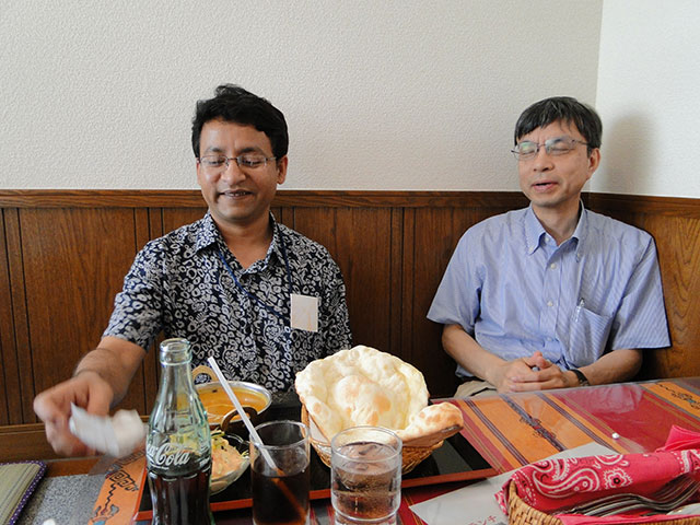 Mr. Kabir and Dr. Okayasu