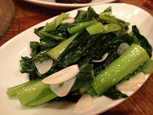 Stir-Fried Chinese Vegetables with Garlic