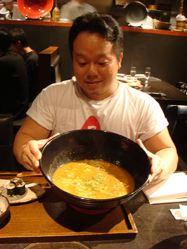 Dr. MaCHO with Curry Udon