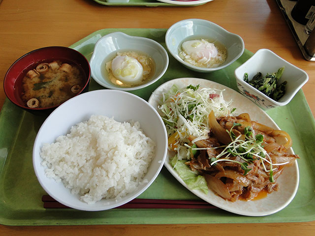 Set Meal A with Soft-boiled Eggs