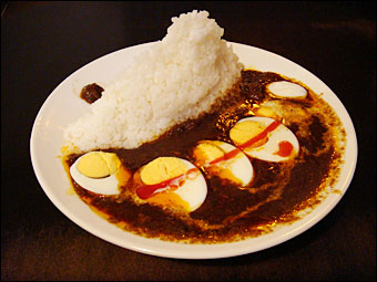 Murugi Curry with Boiled Egg