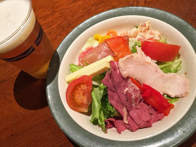 Deli Salad with Beer