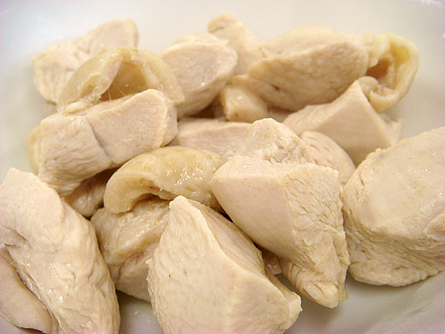 Boiled Chicken Breast