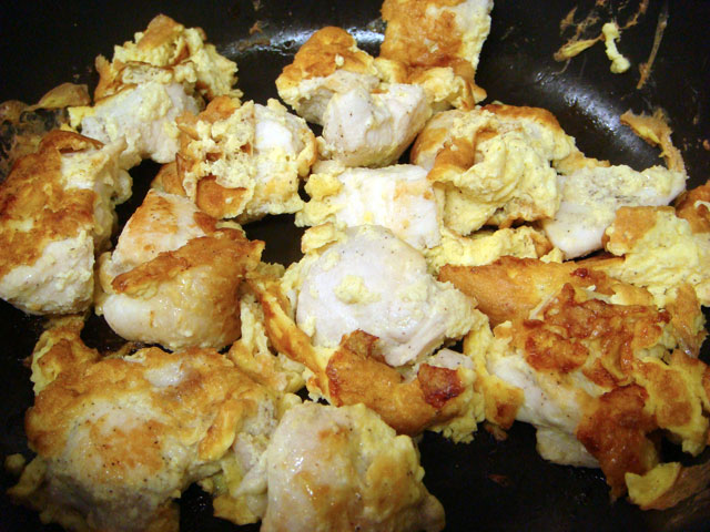 Grilled Chicken Breast with Egg