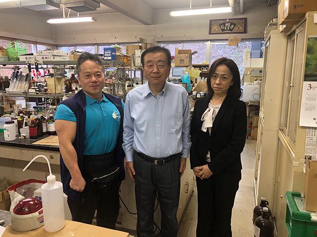 With Prof. Hamada
