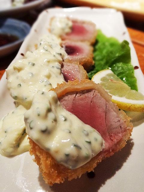 Fried Tuna with Tartar Sauce