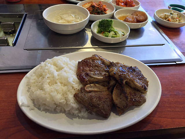 Kalbi Lunch