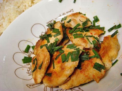 Chicken Breast with Sprouted Brown Rice