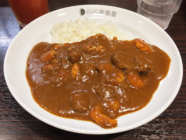 Half Order Cheese Curry (Beef Sauce) with Stewed Shrimps