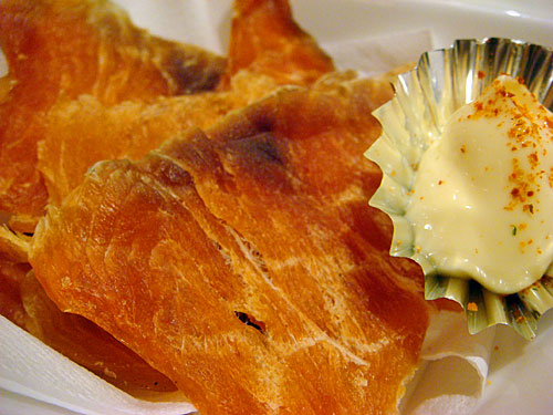 Dried Salmon Chips
