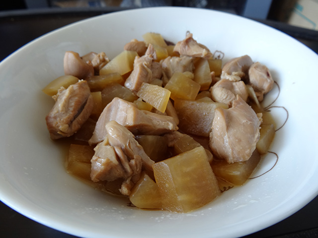Stewed Chicken with Radish