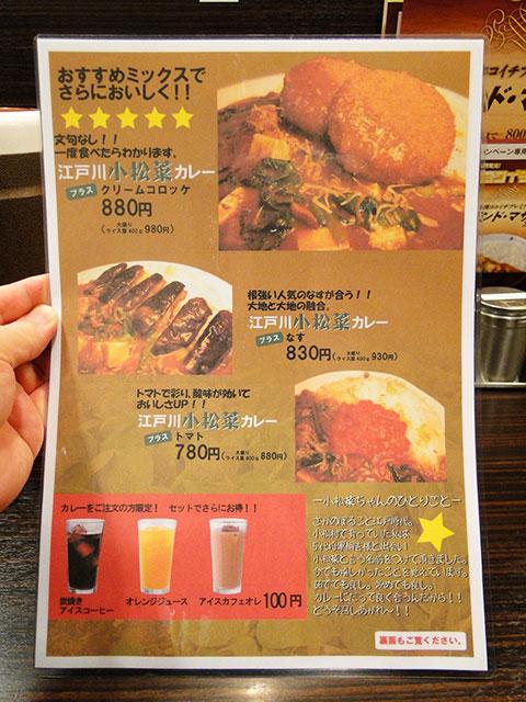 Edogawa Komatsuna Curry
